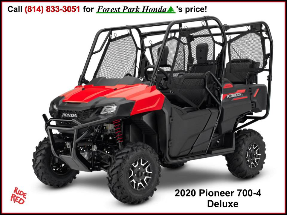 2020 Honda Pioneer 700-4 Deluxe in Erie, Pennsylvania