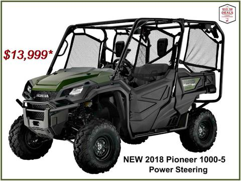 2018 Honda Pioneer 1000-5 in Erie, Pennsylvania