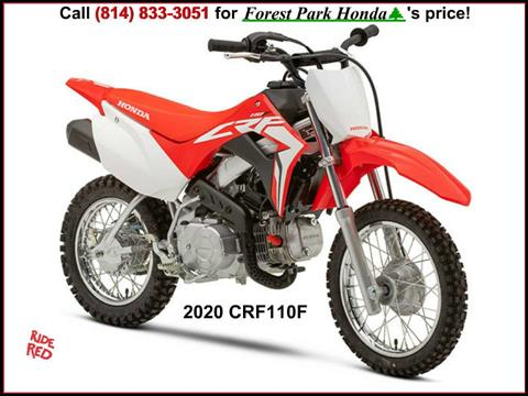 2020 Honda CRF110F in Erie, Pennsylvania