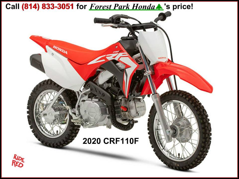 2020 Honda CRF110F in Erie, Pennsylvania - Photo 1