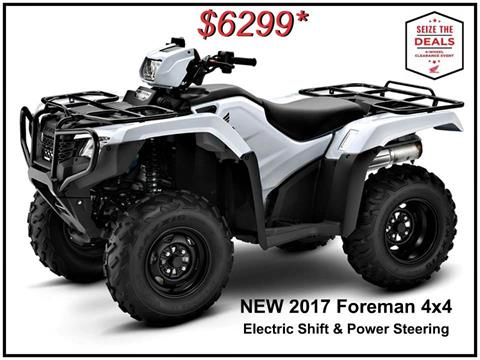 2017 Honda FourTrax Foreman 4x4 ES EPS in Erie, Pennsylvania