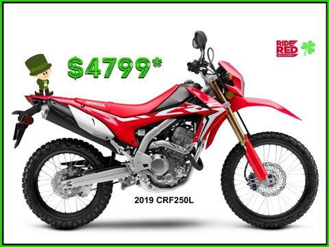 2019 Honda CRF250L in Erie, Pennsylvania