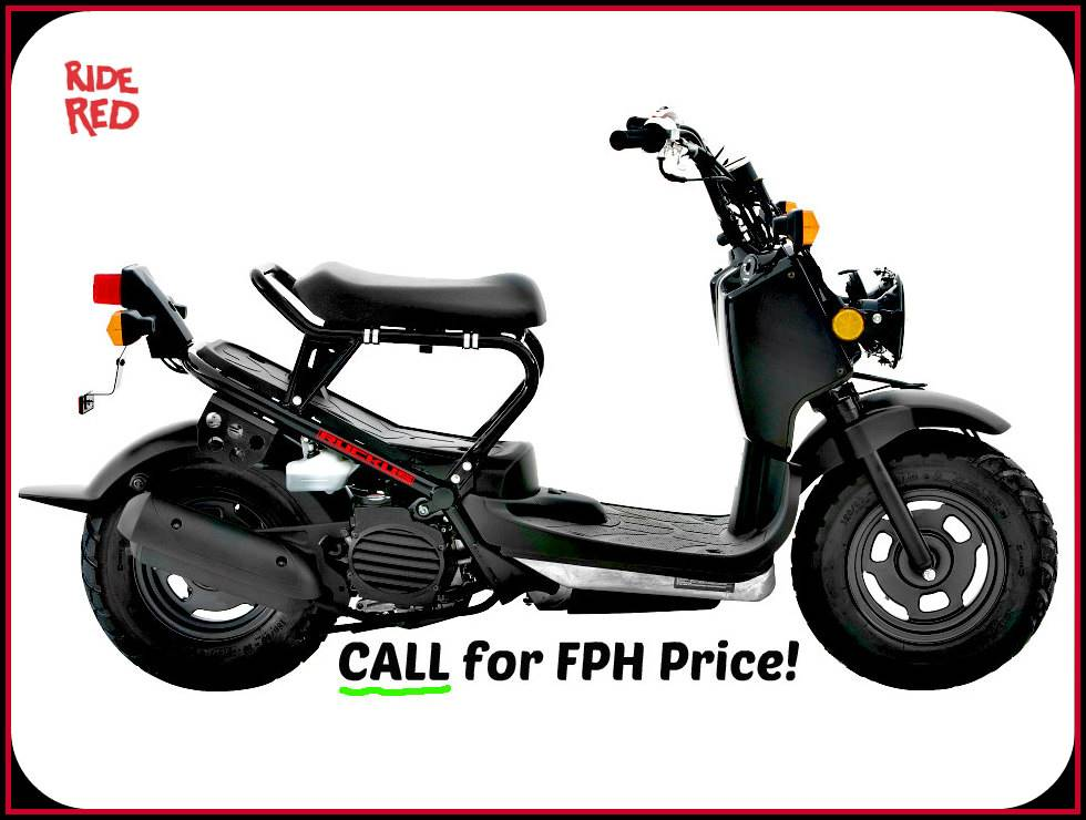 New 2018 Honda Ruckus Scooters in Erie, PA   Stock Number: 18042
