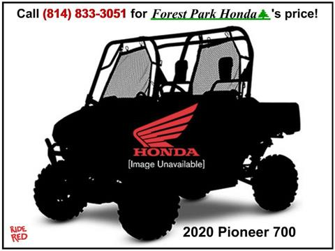 2020 Honda Pioneer 700 in Erie, Pennsylvania