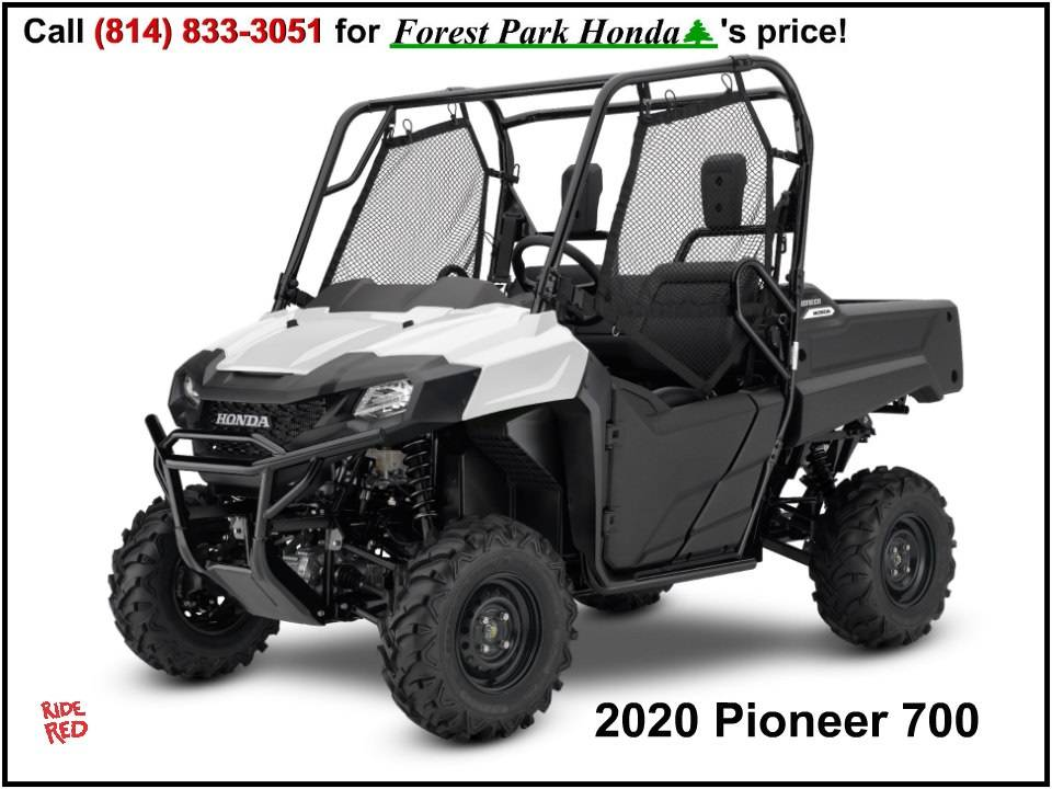 2020 Honda Pioneer 700 in Erie, Pennsylvania - Photo 1