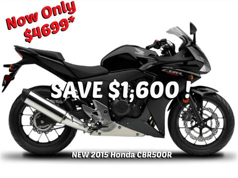 2015 Honda CBR®500R in Erie, Pennsylvania