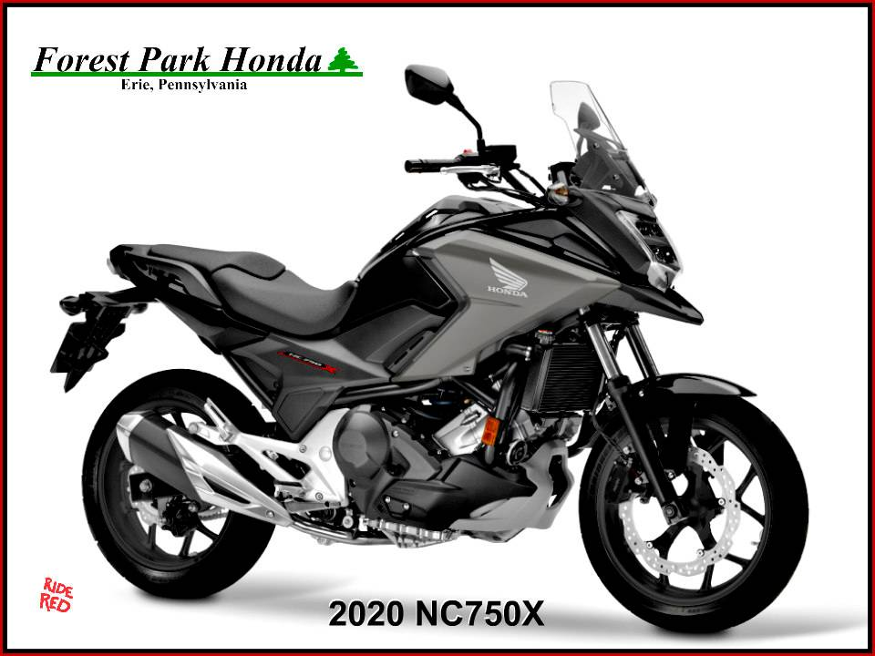 2020 Honda NC750X in Erie, Pennsylvania - Photo 1