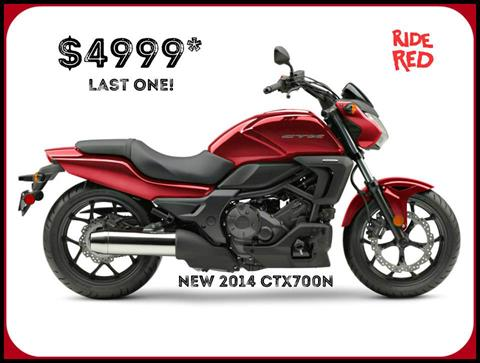 2014 Honda CTX®700N in Erie, Pennsylvania