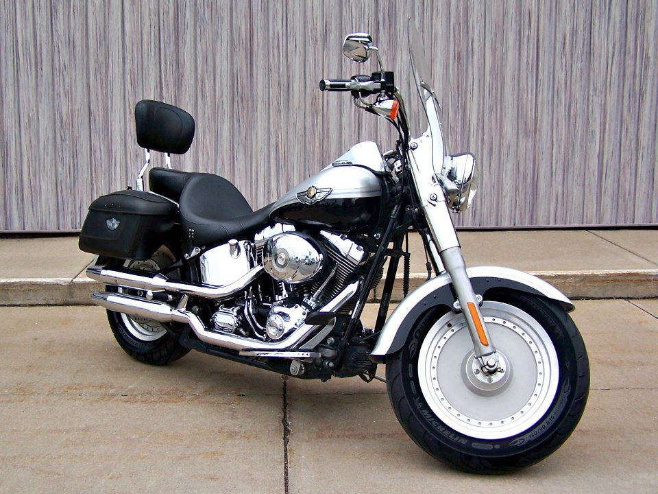 2003 Harley-Davidson FLSTF/FLSTFI Fat Boy® in Erie, Pennsylvania - Photo 1