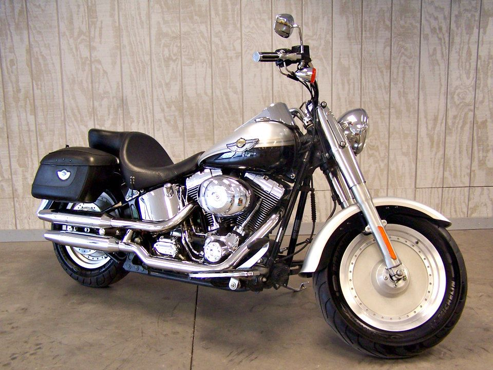 2003 Harley-Davidson FLSTF/FLSTFI Fat Boy® in Erie, Pennsylvania - Photo 2