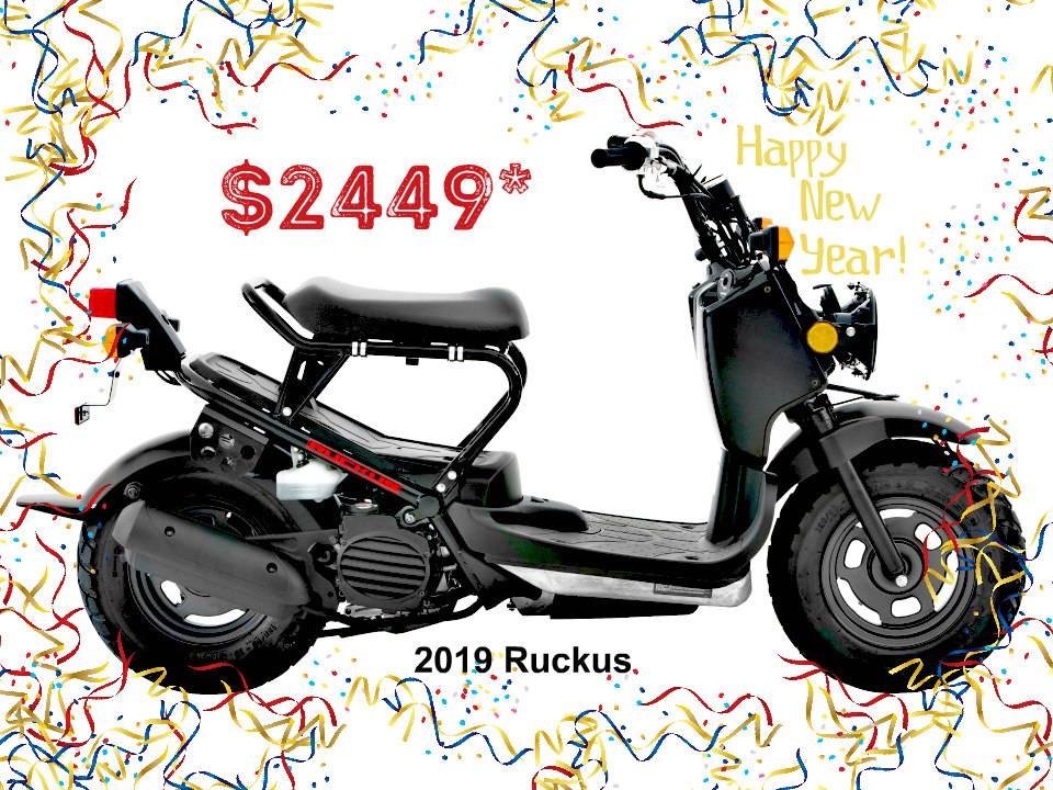 2019 Honda Ruckus in Erie, Pennsylvania - Photo 1