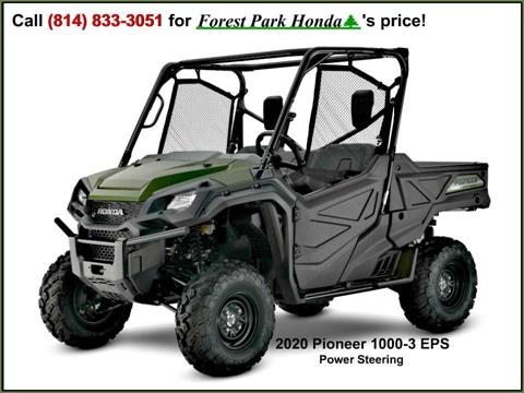 2020 Honda Pioneer 1000 in Erie, Pennsylvania