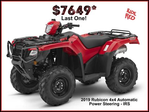 2019 Honda FourTrax Foreman Rubicon 4x4 Automatic DCT EPS in Erie, Pennsylvania