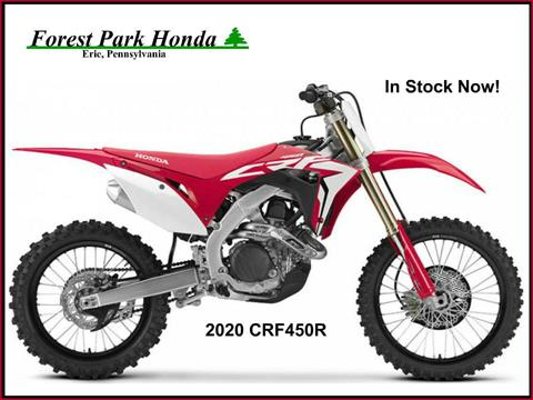 2020 Honda CRF450R in Erie, Pennsylvania