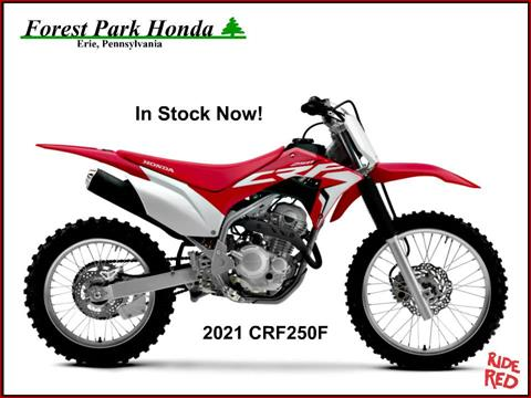 2021 Honda CRF250F in Erie, Pennsylvania