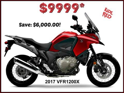 2017 Honda VFR1200X in Erie, Pennsylvania