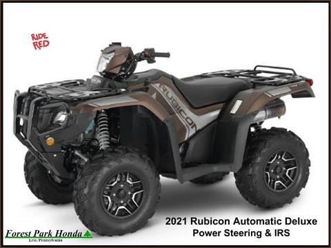 2021 Honda FourTrax Foreman Rubicon 4x4 Automatic DCT EPS Deluxe in Erie, Pennsylvania
