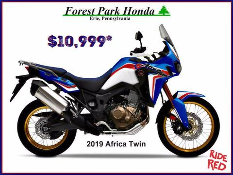 2019 Honda Africa Twin in Erie, Pennsylvania