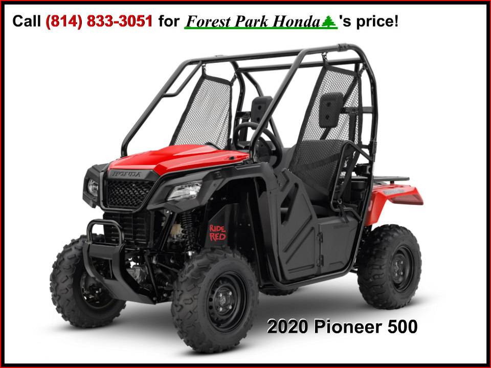 2020 Honda Pioneer 500 in Erie, Pennsylvania - Photo 1