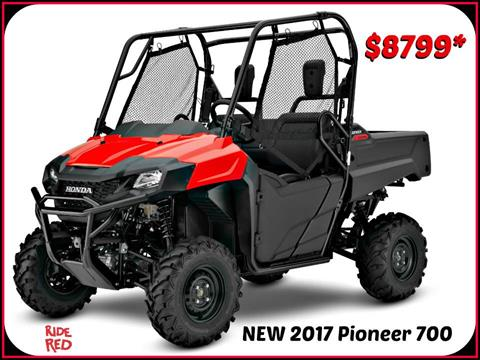 2017 Honda Pioneer 700 in Erie, Pennsylvania