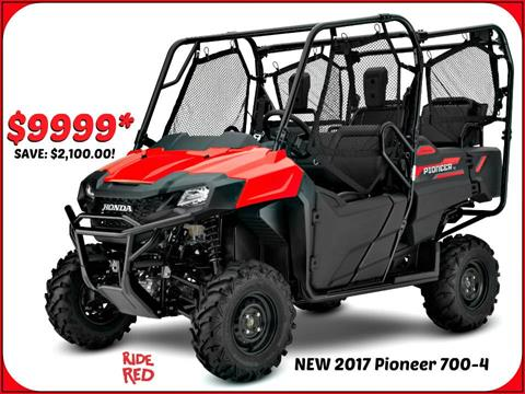 2017 Honda Pioneer 700-4 in Erie, Pennsylvania