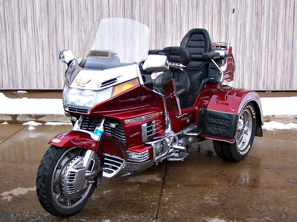 1992 Honda Gold Wing Aspencade with Motor Trike in Erie, Pennsylvania - Photo 1