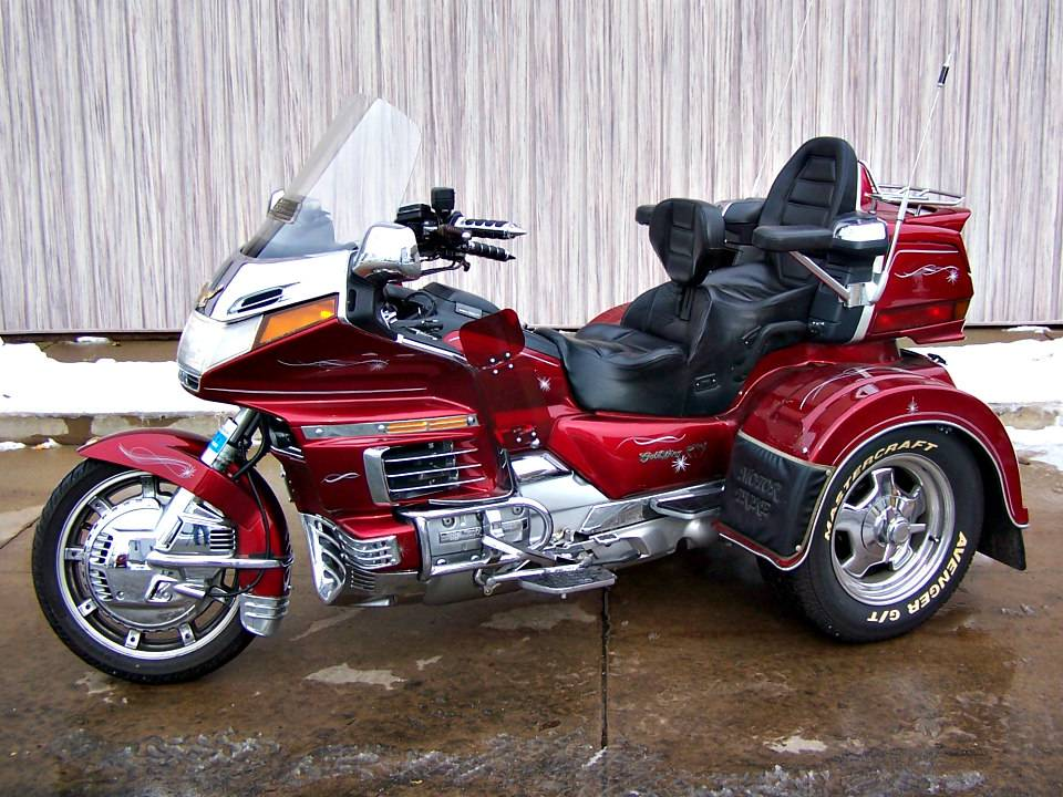 1992 Honda Gold Wing Aspencade with Motor Trike in Erie, Pennsylvania - Photo 2