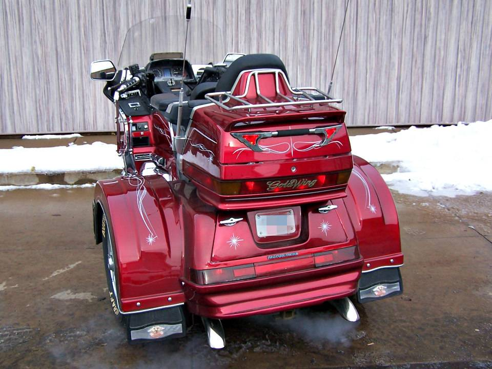 1992 Honda Gold Wing Aspencade with Motor Trike in Erie, Pennsylvania - Photo 4