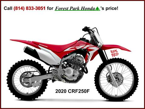 2020 Honda CRF250F in Erie, Pennsylvania