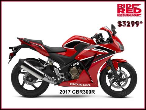 2017 Honda CBR300R in Erie, Pennsylvania