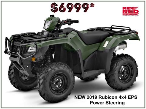2019 Honda FourTrax Foreman Rubicon 4x4 EPS in Erie, Pennsylvania