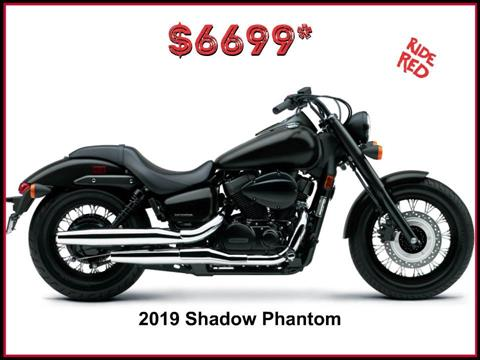 2019 Honda Shadow Phantom in Erie, Pennsylvania
