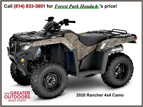 2020 Honda FourTrax Rancher 4x4 in Erie, Pennsylvania