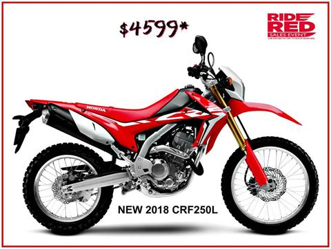 2018 Honda CRF250L in Erie, Pennsylvania