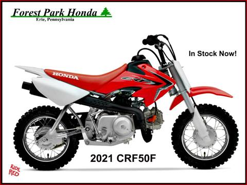 2021 Honda CRF50F in Erie, Pennsylvania