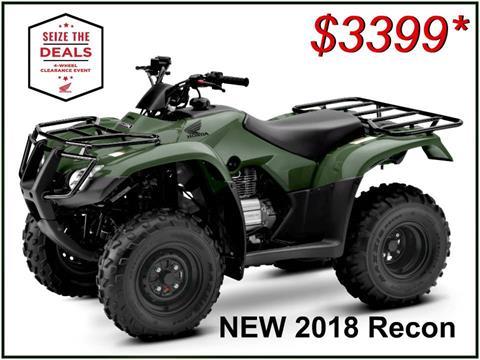 2018 Honda FourTrax Recon In Erie, Pennsylvania