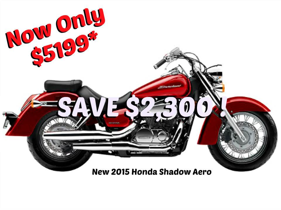 2015 Honda Shadow Aero® in Erie, Pennsylvania