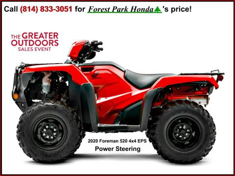 2020 Honda FourTrax Foreman 4x4 EPS in Erie, Pennsylvania