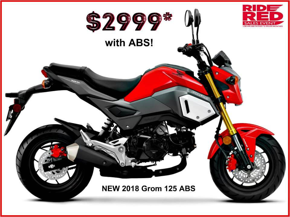 2018 Honda Grom ABS in Erie, Pennsylvania
