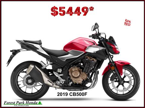 2019 Honda CB500F in Erie, Pennsylvania