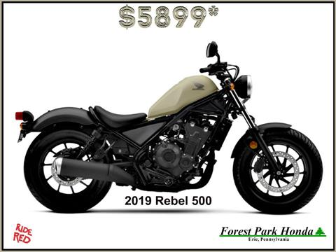 2019 Honda Rebel 500 in Erie, Pennsylvania