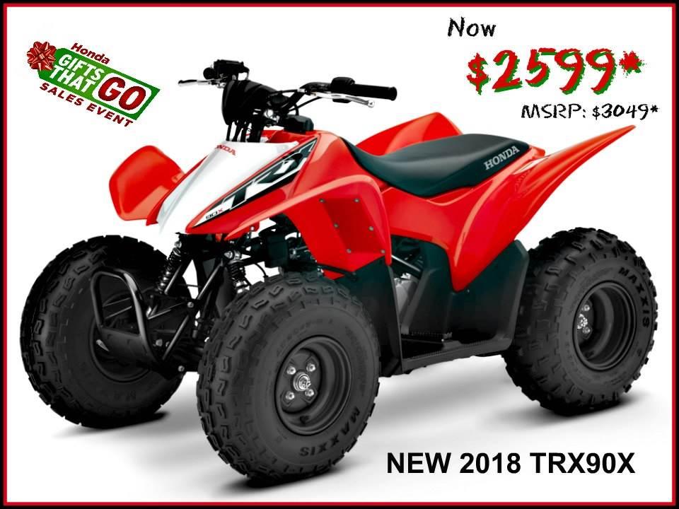 2018 Honda TRX90X 1