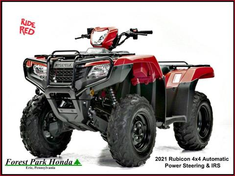 2021 Honda FourTrax Foreman Rubicon 4x4 Automatic DCT EPS in Erie, Pennsylvania