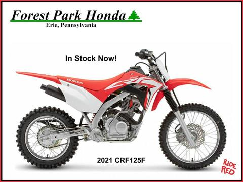 2021 Honda CRF125F in Erie, Pennsylvania