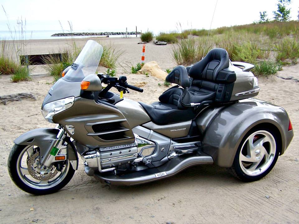 2008 Honda Gold Wing® Audio Comfort Navi in Erie, Pennsylvania