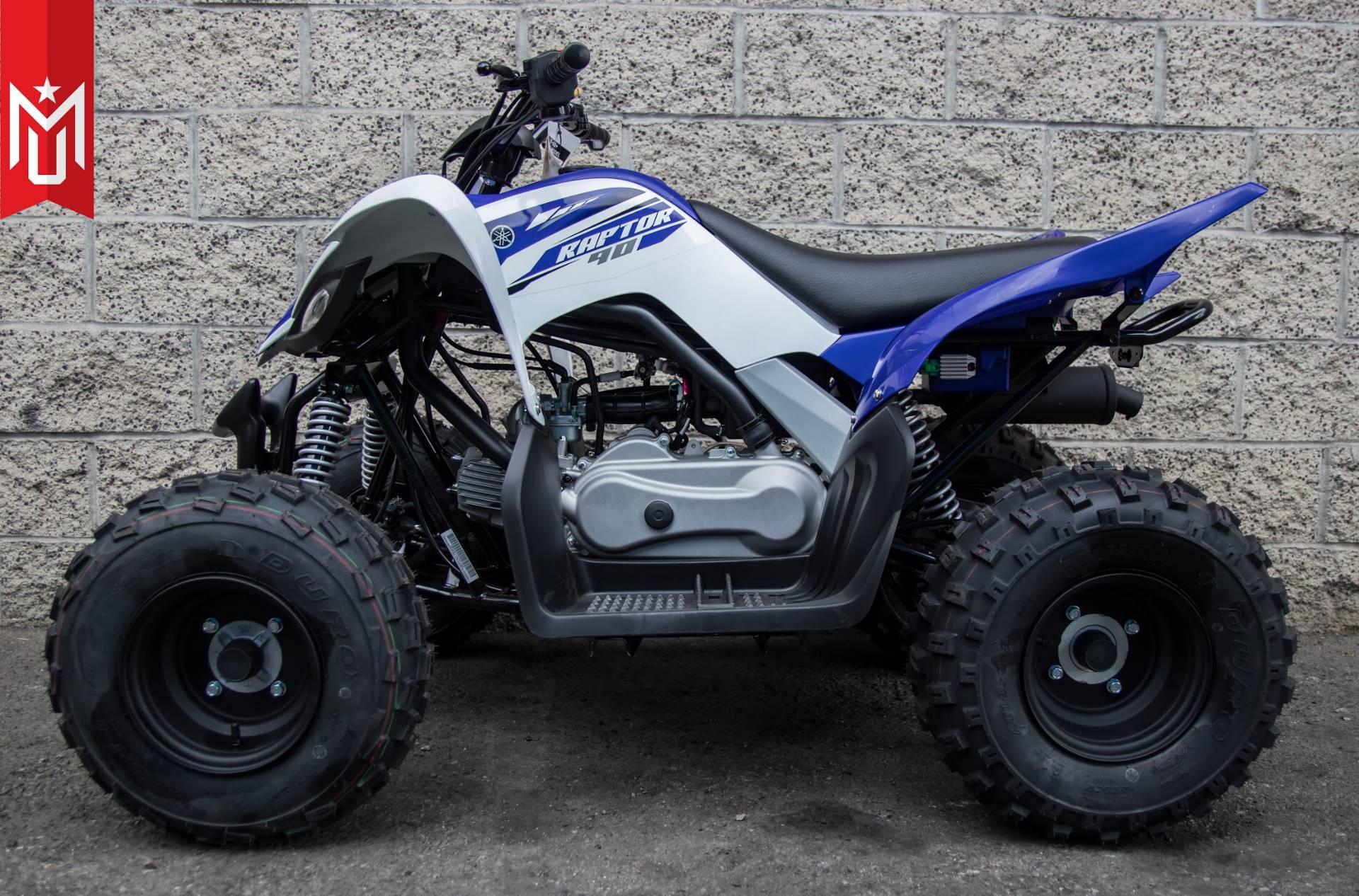 2018 Yamaha Raptor 90 2