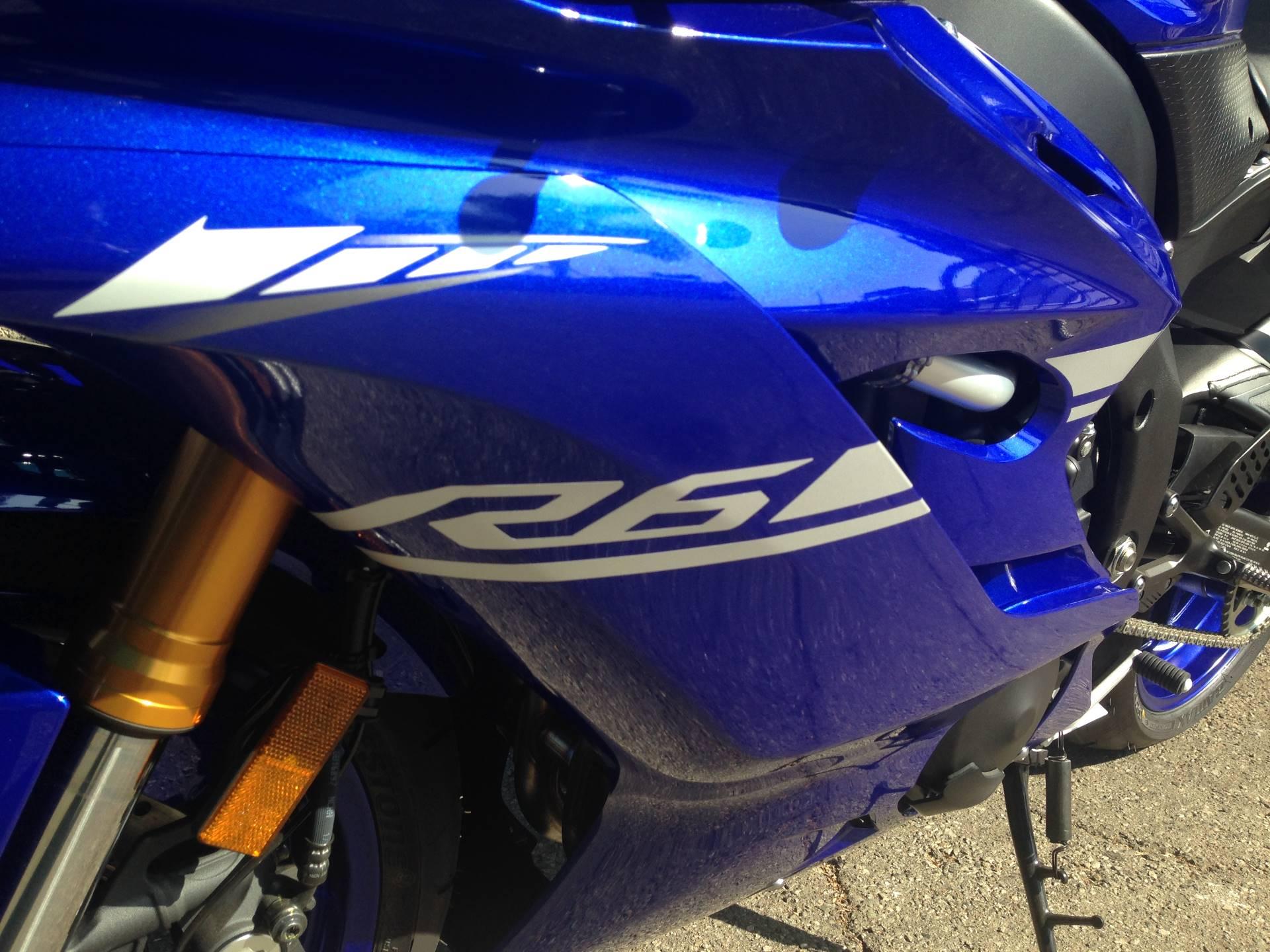 2017 Yamaha YZF-R6 3
