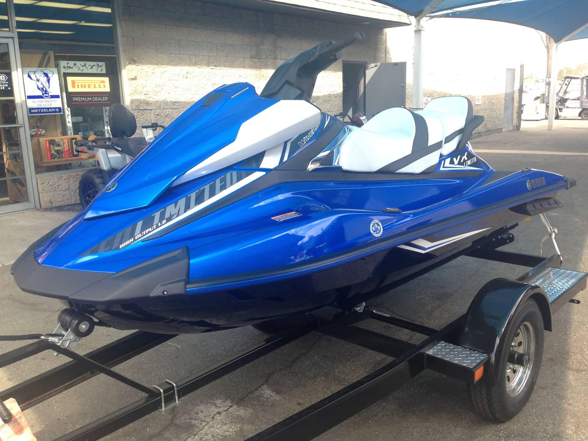 2017 Yamaha VX Limited for sale 27059