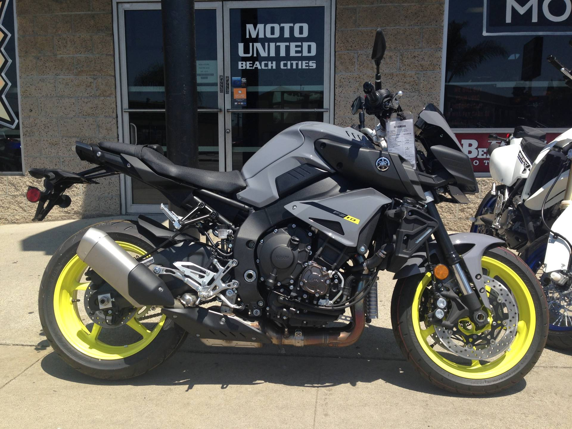 2017 Yamaha FZ-10 for sale 22178