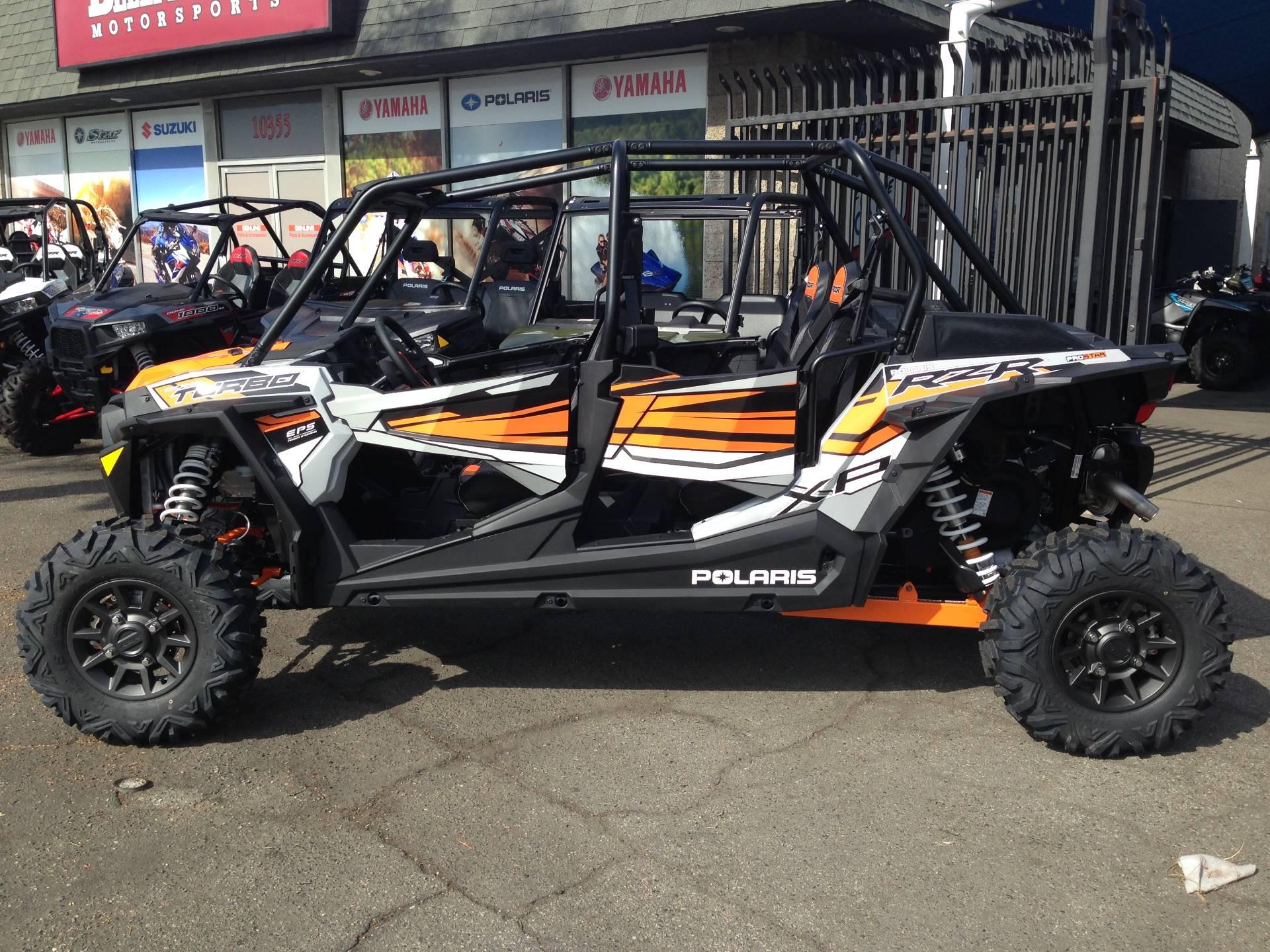 2018 Polaris RZR XP 4 Turbo EPS 8